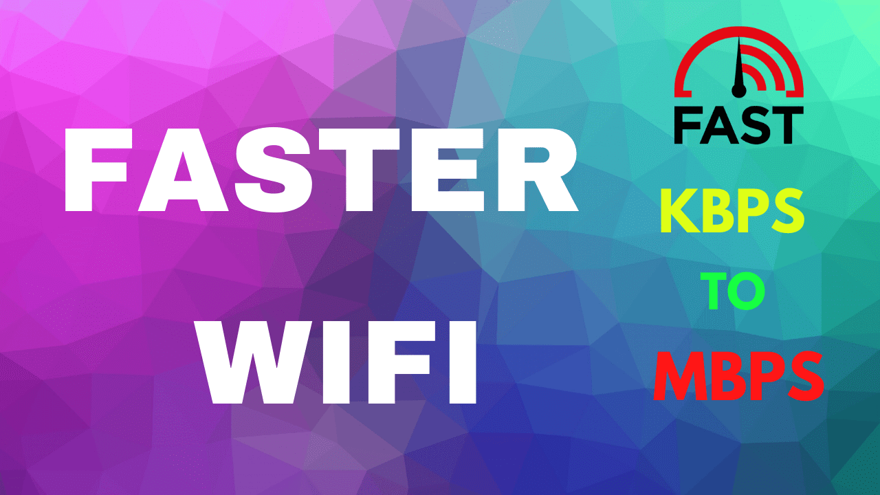 Improve your wifi network