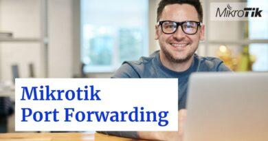 mikrotik port forwarding